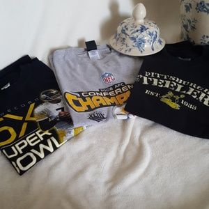 Steelers 3 tee shirts!